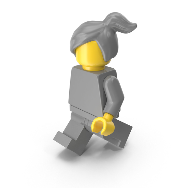 People: Lego Woman Walking PNG & PSD Images