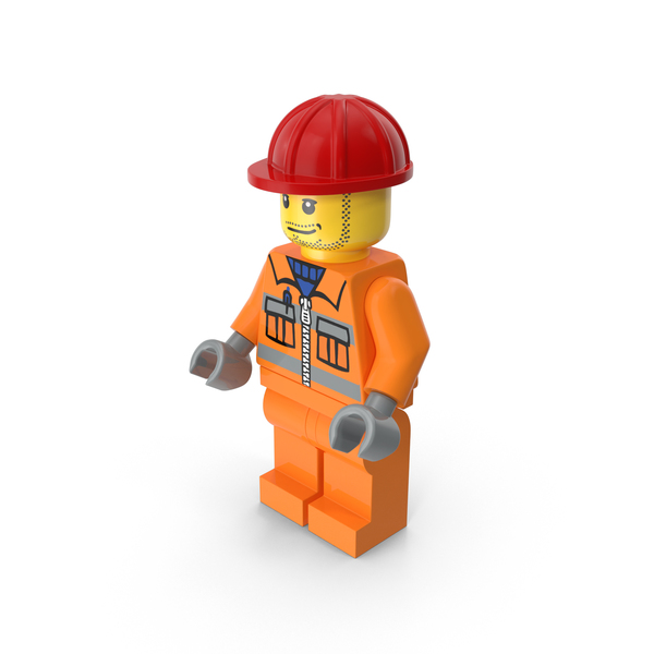 Lego Worker PNG & PSD Images