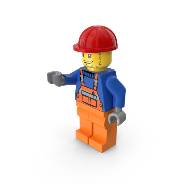 Lego Worker Object