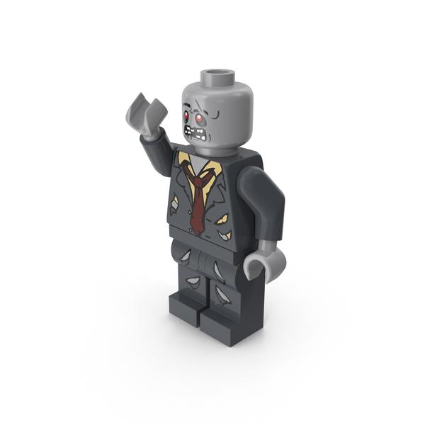 Lego Zombie Object