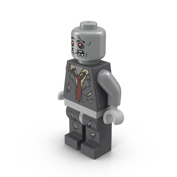 People: Lego Zombie Minifigure PNG & PSD Images