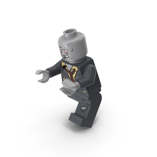 People: Lego Zombie Running PNG & PSD Images