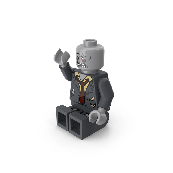 Lego Zombie Sitting PNG & PSD Images