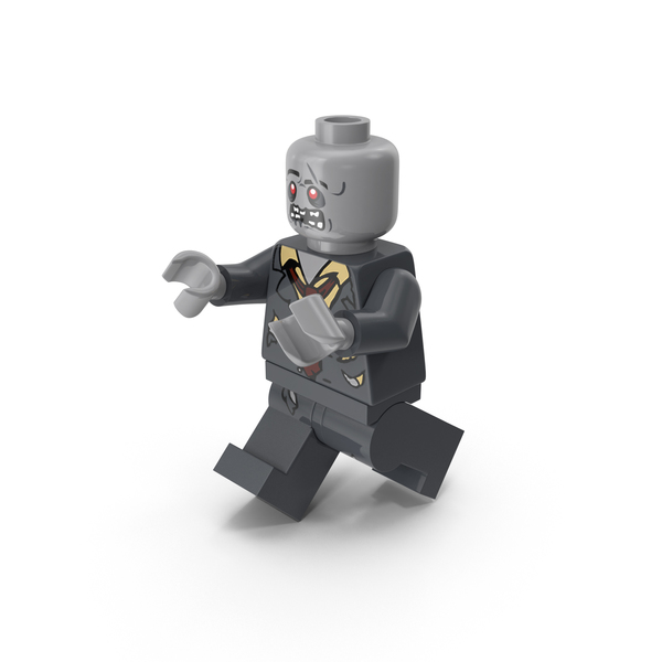 People: Lego Zombie Walking PNG & PSD Images
