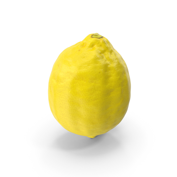 Lemon Standing on End PNG & PSD Images