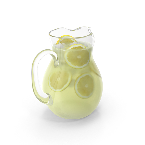 Lemonade Pitcher PNG & PSD Images