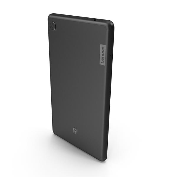 Lenovo Tab M7 Onyx Black PNG & PSD Images