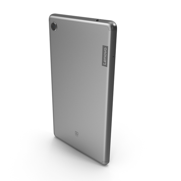 Lenovo Tab M7 Platinum Grey PNG & PSD Images