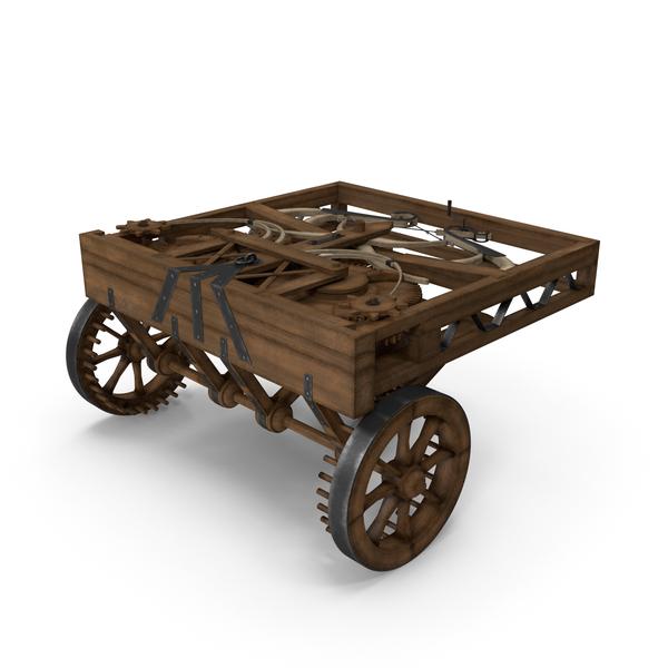 Leonardo Da Vinci Automobile PNG & PSD Images