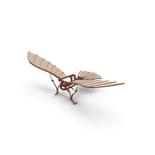 Leonardo Da Vinci Flying Machine PNG & PSD Images