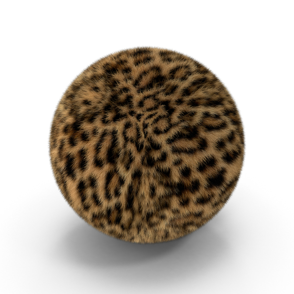 Leopard Fur Ball PNG & PSD Images