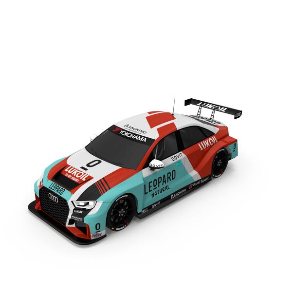 Race Car: Leopard Racing Audi RS3 LMS PNG & PSD Images