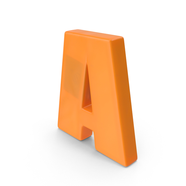 Letter A Fridge Magnet Object
