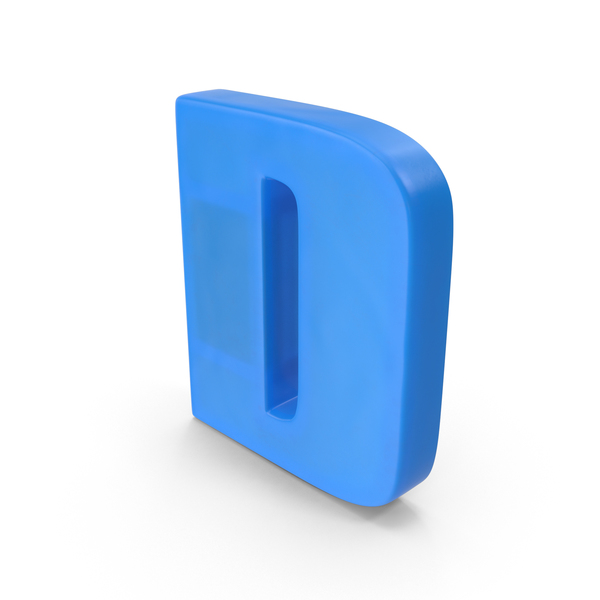 Letter D Fridge Magnet Object