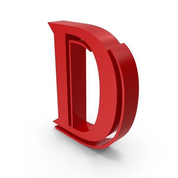 Letter D PNG & PSD Images