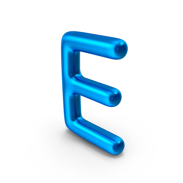 Letter E PNG & PSD Images