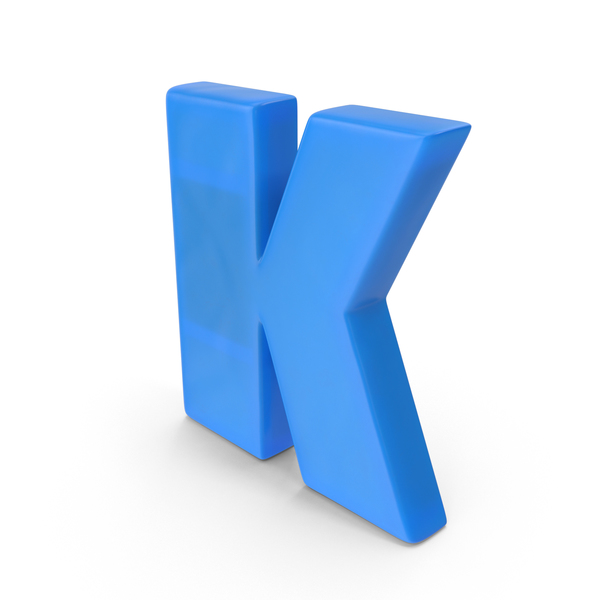 Letter K Fridge Magnets Object