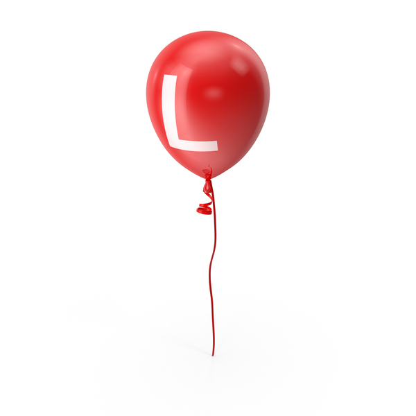 Letter L Balloon PNG & PSD Images