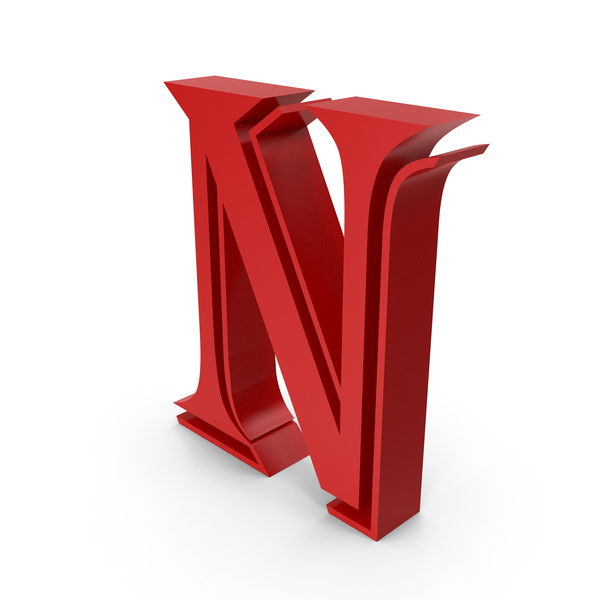 Language: Letter N PNG & PSD Images
