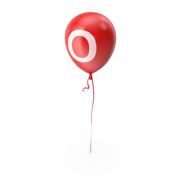 Letter O Balloon PNG & PSD Images