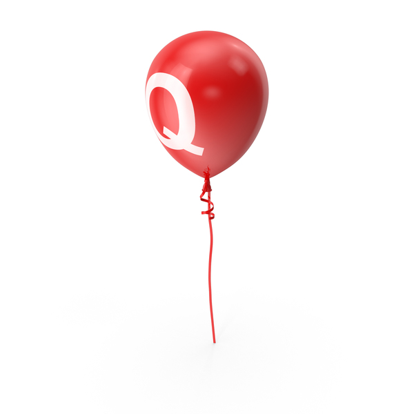 Letter Q Balloon PNG & PSD Images