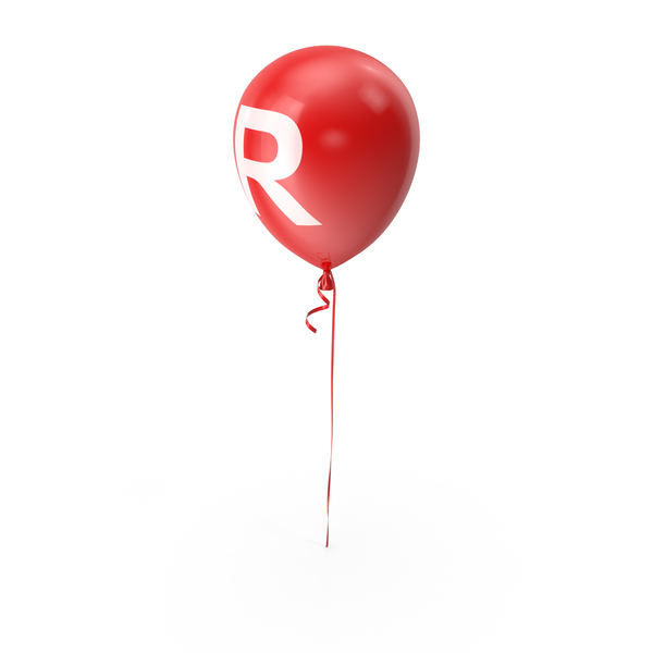 Letter R Balloon PNG & PSD Images