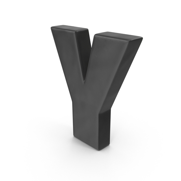 Letter Y Fridge Magnets Object