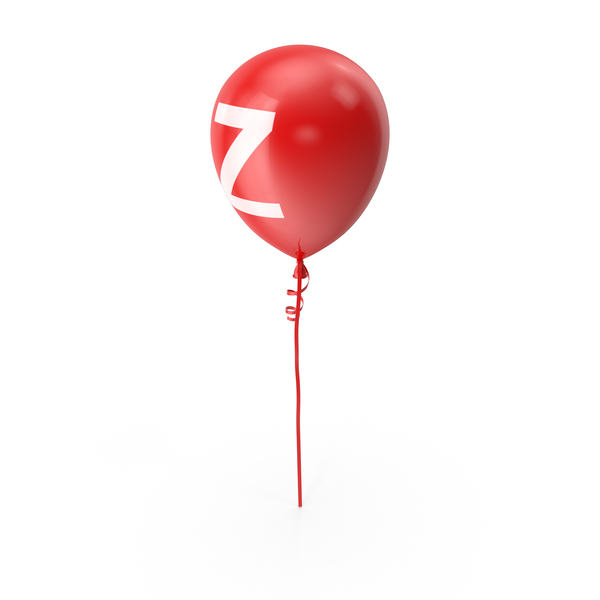 Letter Z Balloon PNG & PSD Images