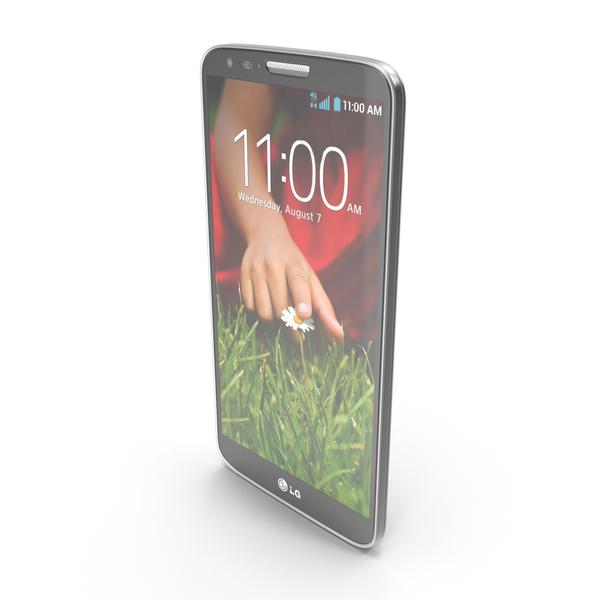 LG G2 Black PNG & PSD Images