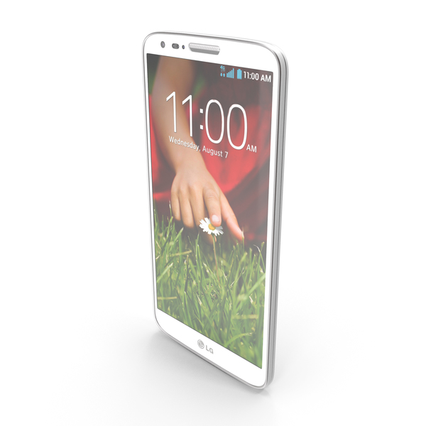 LG G2 White PNG & PSD Images
