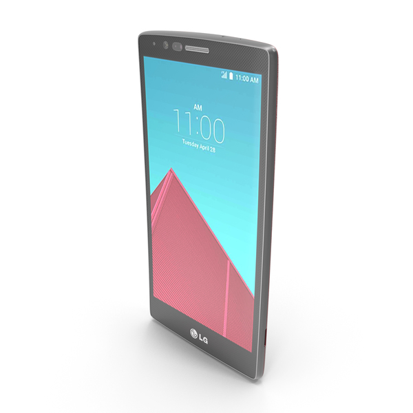 Smartphone: LG G4 and G4 Dual Leather Red PNG & PSD Images