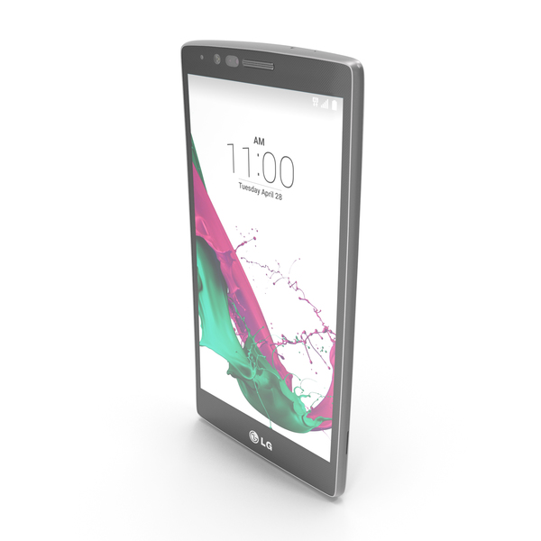 Smartphone: LG G4 and G4 Dual White PNG & PSD Images