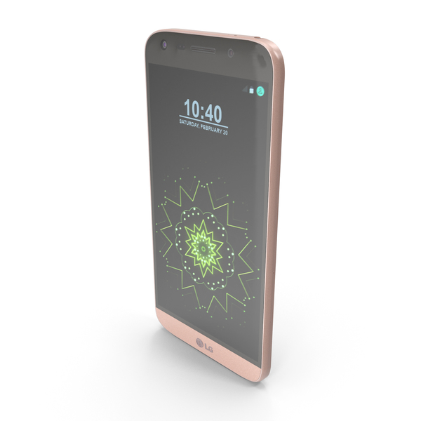 LG G5 Pink PNG & PSD Images