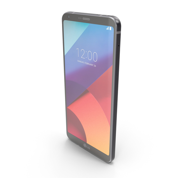 LG G6 Astro Black PNG & PSD Images
