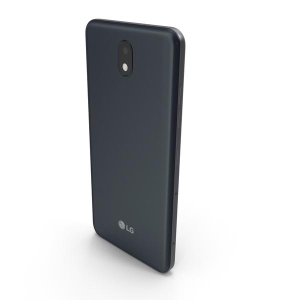 LG K30 2019 New Aurora Black PNG & PSD Images