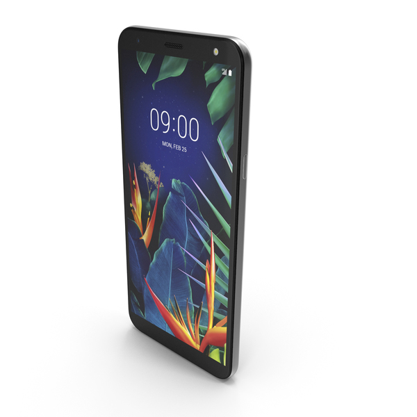 LG K40 (K12 Plus) New Platinum Gray PNG & PSD Images