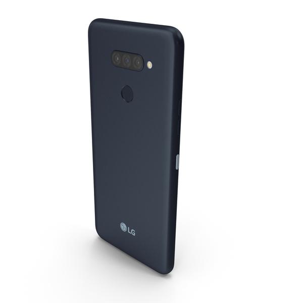LG K50S New Aurora Black PNG & PSD Images