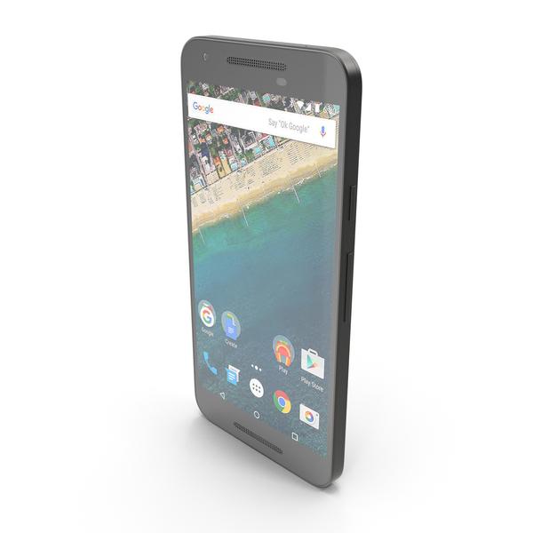 LG Nexus 5X Carbon PNG & PSD Images