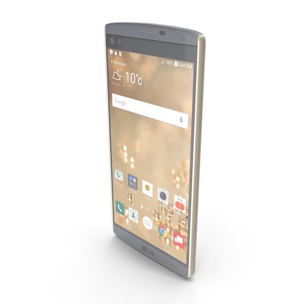 Smartphone: LG V10 Opal Blue PNG & PSD Images