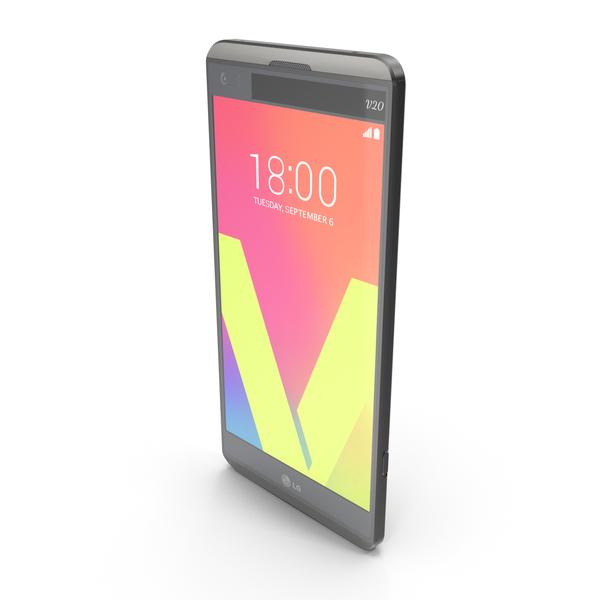 LG V20 Titan PNG & PSD Images