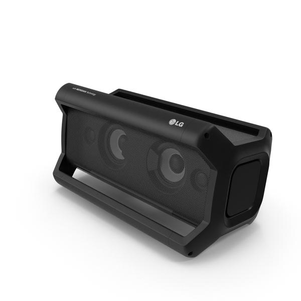 Mini Speaker: LG XBOOM Go PK7 PNG & PSD Images