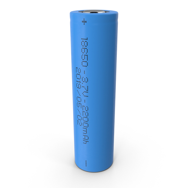 Rechargeable: Li-Ion Battery 18650 PNG & PSD Images