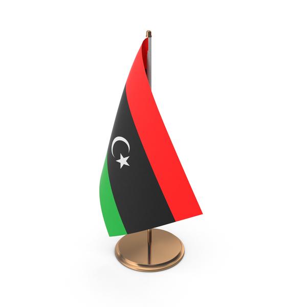 Libya Desk Flag PNG & PSD Images