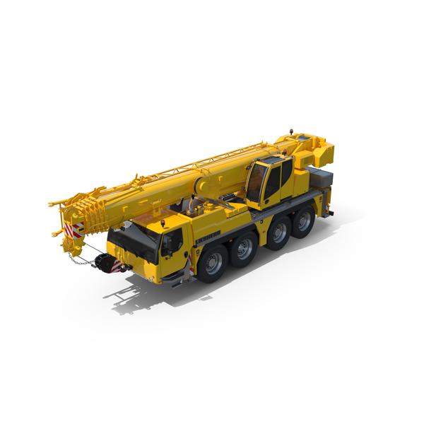 Liebherr  1070-4.2 Mobile Crane PNG & PSD Images