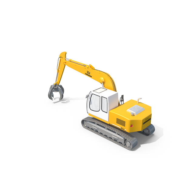 Liebherr Grapple PNG & PSD Images