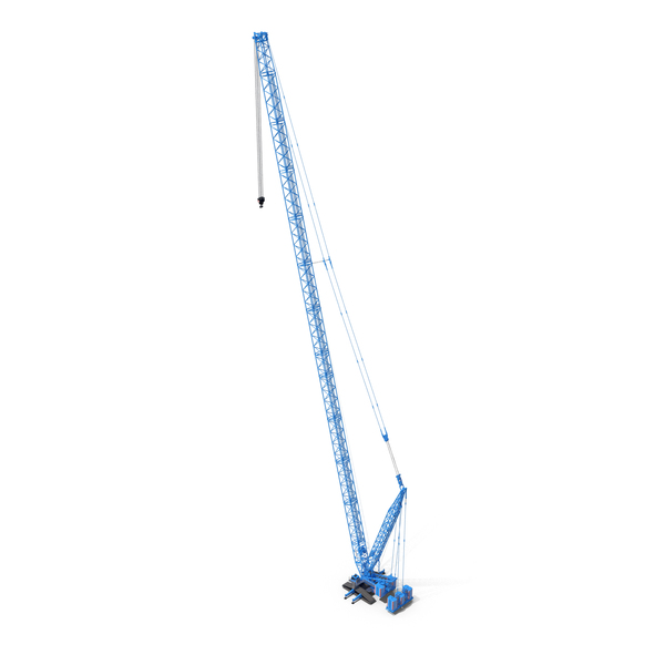Liebherr LR 1600 2 HSDB 144m Blue PNG & PSD Images