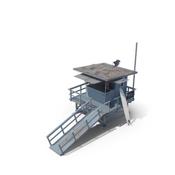 Lifeguard Tower PNG & PSD Images
