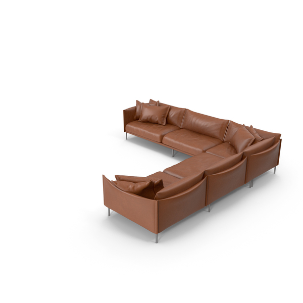 Light Brown Sofa PNG & PSD Images