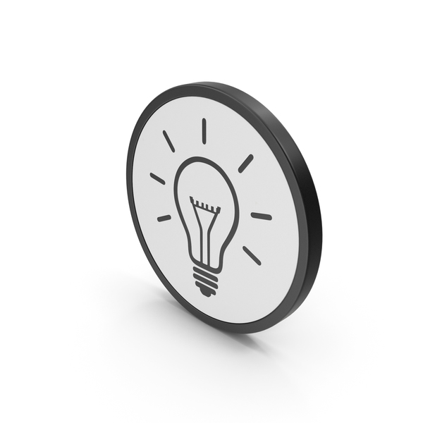 Computer: Light Bulb Icon PNG & PSD Images