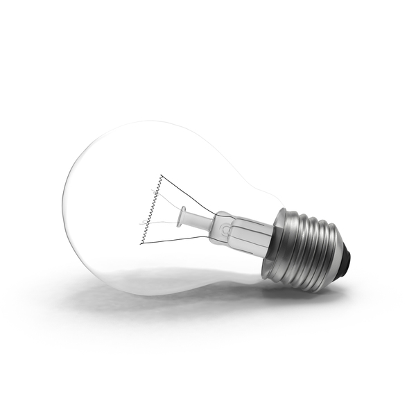 Incandescent: Light Bulb PNG & PSD Images